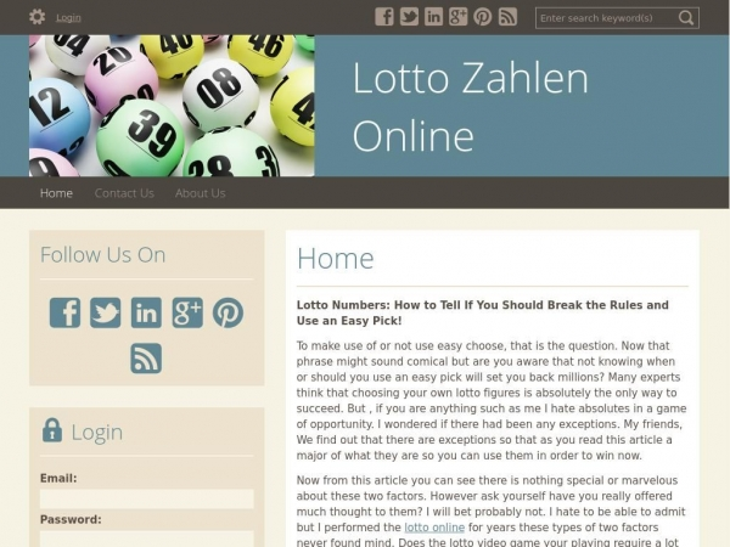 lottozahlenonline.doodlekit.com
